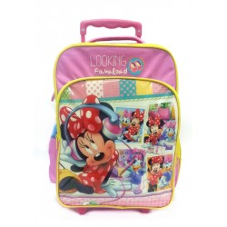 Disney Minnie Mouse Fabulous School Trolley Bag
