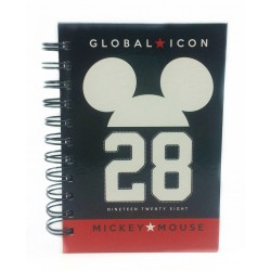 Disney Retro Mickey A6 150'S Spot UV NoteBook (A)