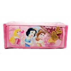 Disney Princess Butterfly Ribbon Pencil Bag-A