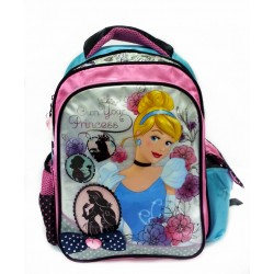 Disney Princess Cinderella Pre-School Bag With Flashing Light Design