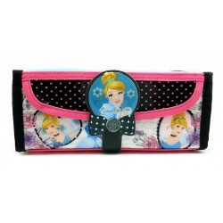 Disney Princess Cinderella Square Pencil Bag With Pocket