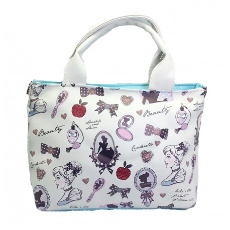 Disney Princess Cinderella Temperament Hand Carry Tote Bag