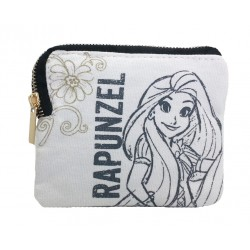 Disney Princess Rapunzel Canvas Coin Pouch