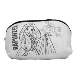 Disney Princess Rapunzel Canvas Cosmetic Pouch