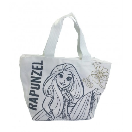 Disney Princess Rapunzel Canvas Hand Carry Tote Bag