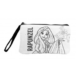 Disney Princess Rapunzel Canvas Wristlet Pouch