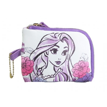 Disney Princess Rapunzel Purple Coin Purse