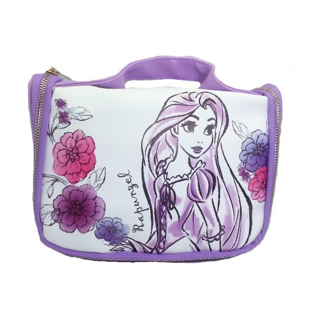 Disney Princess Rapunzel Purple Toiletries Bag