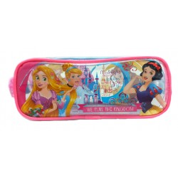 Disney Princess True Love Square Transparent Pencil Bag Set