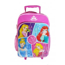 Disney Princess Castle Schol Trolley Bag