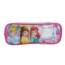 Disney Princess Pretty Girl Transparent Square Pencil Bag Set