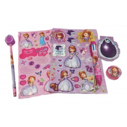Disney Sofia The First 6pcs OPP Stationery Set