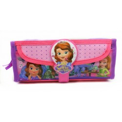 Disney Sofia The First Square Pencil Bag With Pocket