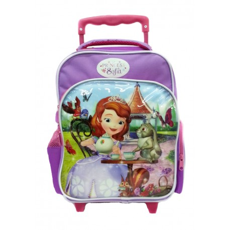 Disney Sofia The First Tea Party Pre-School Trolley Bag