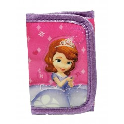 Disney Sofia The First Castle 3 Fold Wallet