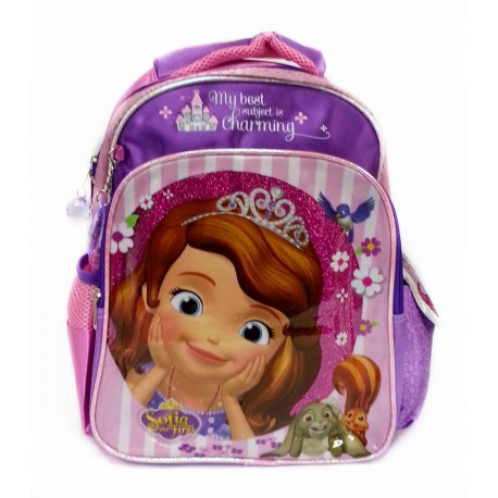 Disney Sofia The First Charming Pre-School Bagolley Bag