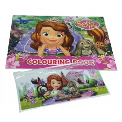 Disney Sofia The First Garden Coloring Book Set
