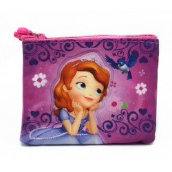 Disney Sofia The First Purple Coin Purse
