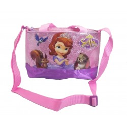 Disney Sofia The First Sparkling Animals HANDLE Sling Bag