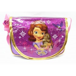 Disney Sofia The First Sparkling Purple Shoulder Bag