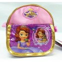Disney Sofia The First Sparkling Purple Sling Bag WITH POCKET