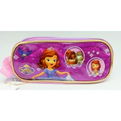 Disney Sofia The First Sparkling Purple Square Pencil Bag