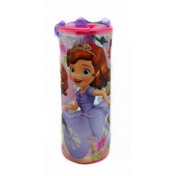 Disney Sofia The First With Amber Round Transparent Pencil Bag Set