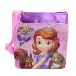 Disney Sofia The First With Clover Sparkling Sling Bag