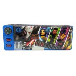 Disney Star Wars Rebel Blue Magnetic Pencil Case