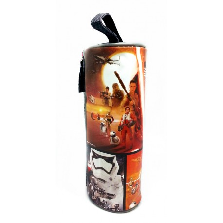 Disney Star Wars Force Awakens Round Pencil Bag