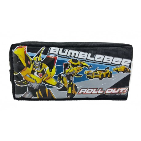 Transformers Bumblebee Double Zip Square Pencil Bag