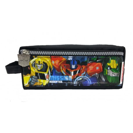 Transformers Mission Square Pencil Bag