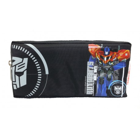 Transformers Optimus Prime Double Zip Square Pencil Bag