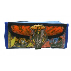 Transformers Beast Hunters Square Pencil Bag With Pocket