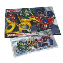 Transformers One Team Coloring Book Set