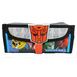 Transformers Prime Square Pencil Bag With Pocket