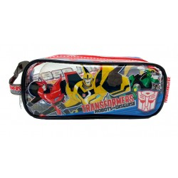 Transformers Robot Square Transparent Pencil Bag Set