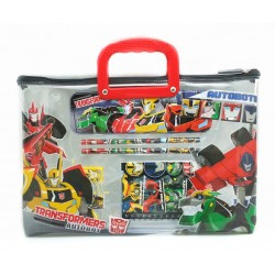 Transformers Stationery Set With Transparent Bag