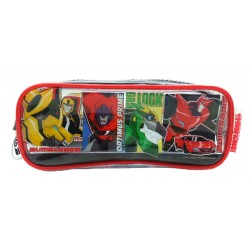 Transformers Transparent Square Pencil Bag Set