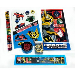 Transformers Robot In Disguise OPP Stationery Set
