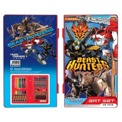 Transformers Beast Hunters 42pcs Art Set