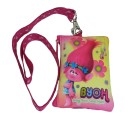Trolls True Color Coin Purse With Lanyard