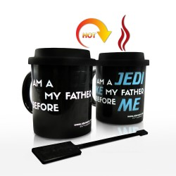 Disney Star Wars Jedi 3.5 Inch Ceramic Thermal Mug