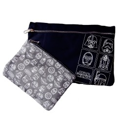 Disney Star Wars 2 In 1 Canvas Pouches