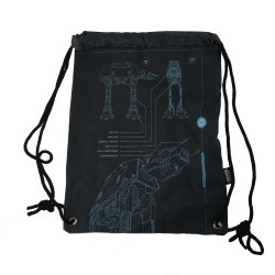 Disney Star Wars Rogue One Drawstring Bag - Blue