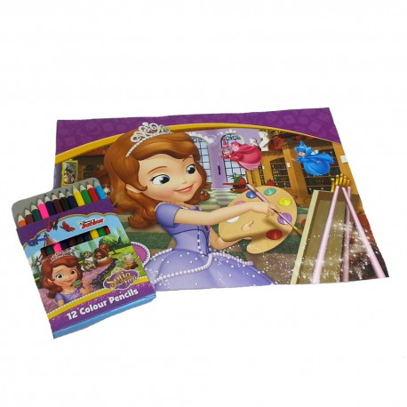 Disney Sofia The First Coloring Book Set