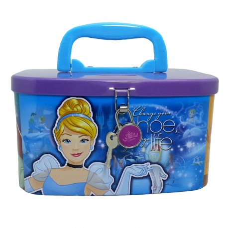 Disney Princess Life Coin Bank With Lock