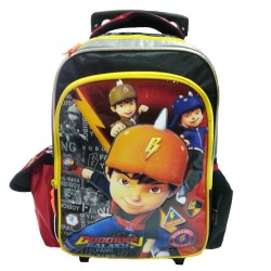 Boboiboy Galaxy Heroes Pre School Trolley Bag