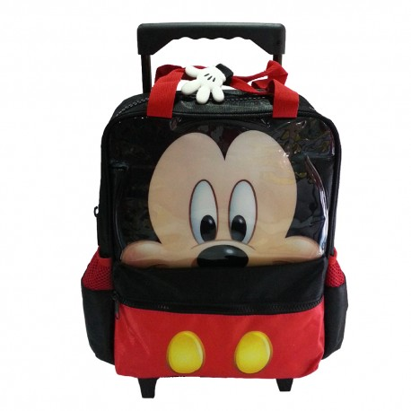 Disney Mickey Mouse 3D Pre-School Trolley Bag