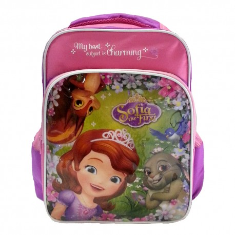 Disney Sofia The First Charming Pre-School Bag